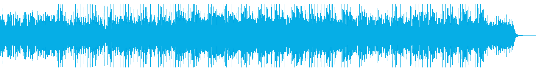 ウェディングの様なおめでたい感じのBGMの再生済みの波形