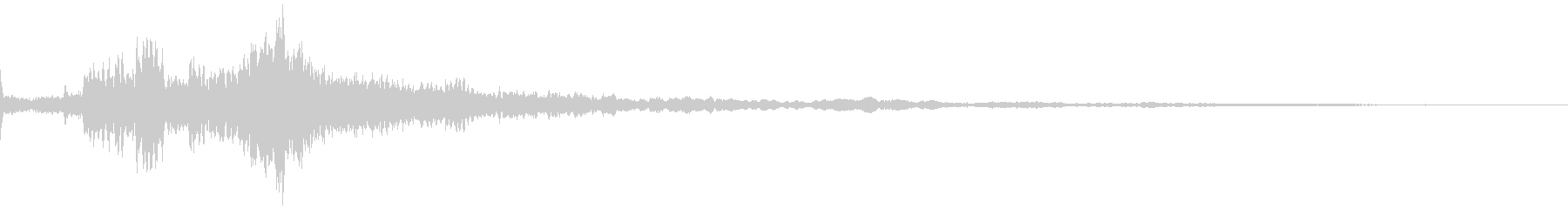 【シネマティック】 ベル音_08の未再生の波形