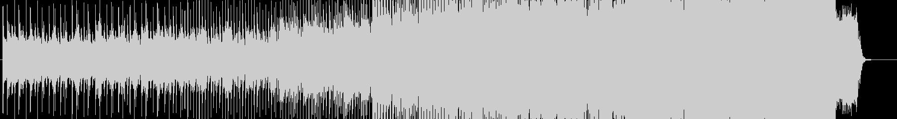 映像向きの前向なオーケストラポップスの未再生の波形