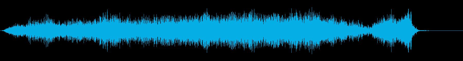 宇宙の旅の再生済みの波形