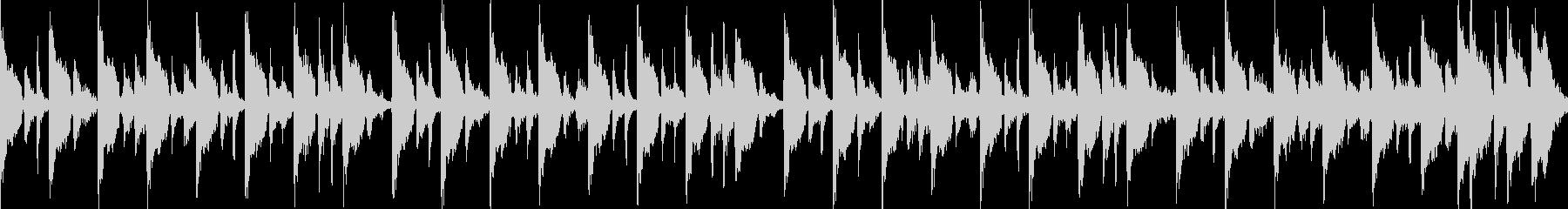 (loop)かけ足ハウスの未再生の波形
