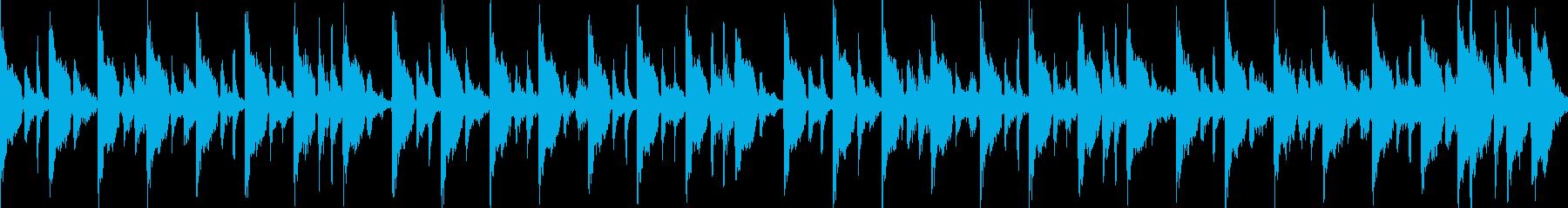 (loop)かけ足ハウスの再生済みの波形