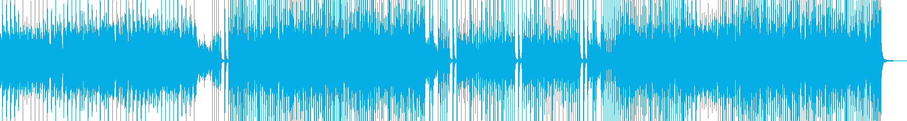 ピクニックシーンに・スィングポップ H2の再生済みの波形