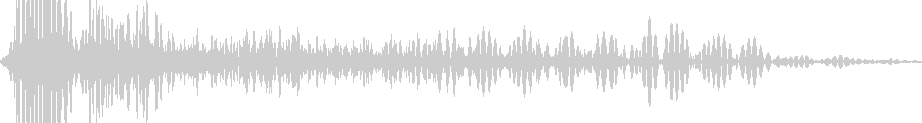 ミリタリータンクガン:シングルショ...の未再生の波形