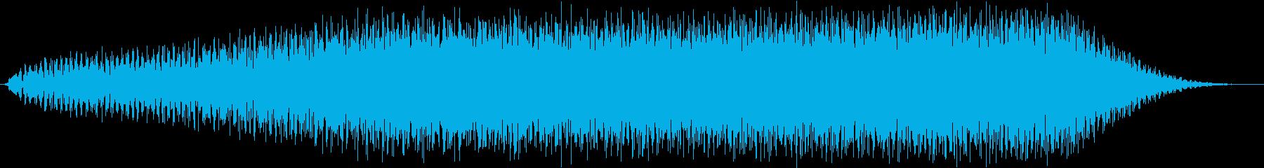 あの なんか出てきそうな音 証拠編の再生済みの波形