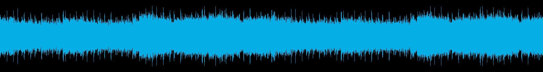 意思を持って前に進むイメージのEDMの再生済みの波形