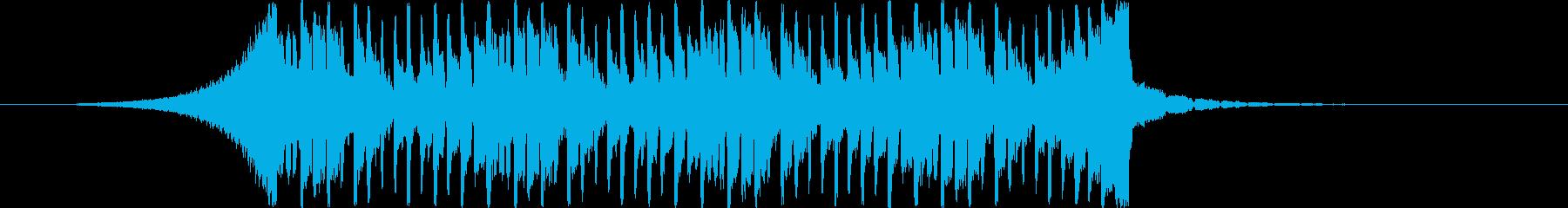 【爽やか】爽快でハッピーな雰囲気のBGMの再生済みの波形