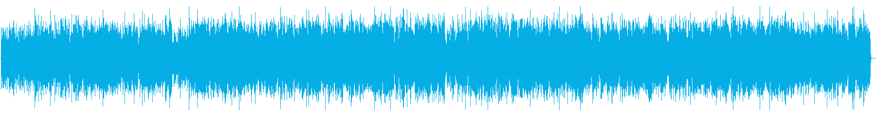 爽やかBGMの再生済みの波形