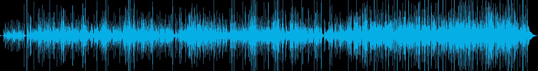 ウクレレとギターの爽やかな海に合う曲の再生済みの波形