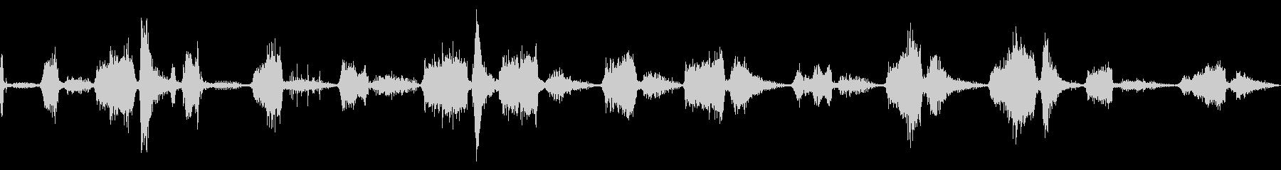 チャフスとスナール、キャットワイル...の未再生の波形