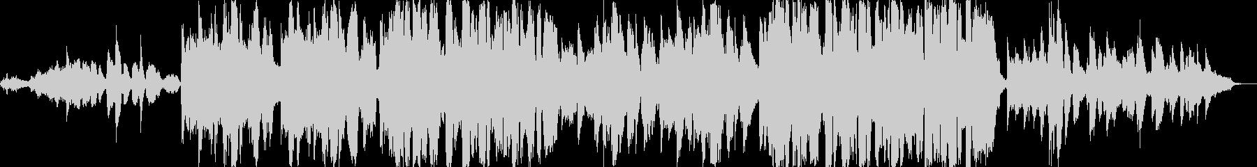 スキャットによるゴスペルの未再生の波形