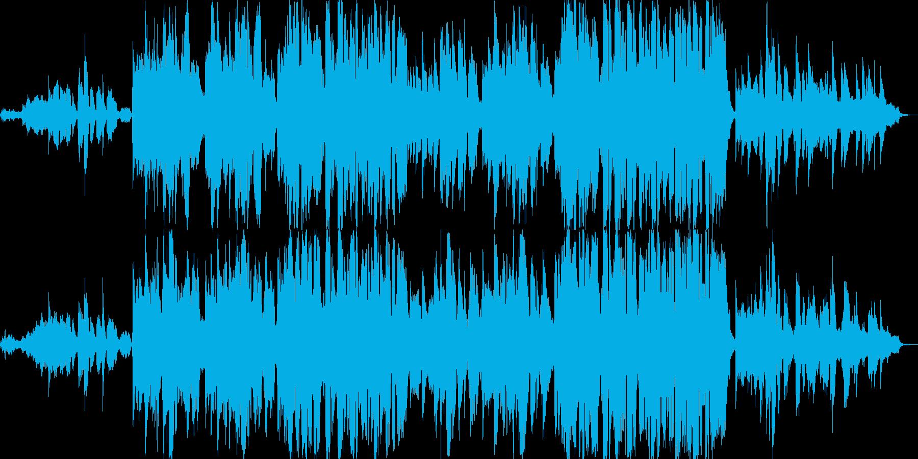スキャットによるゴスペルの再生済みの波形