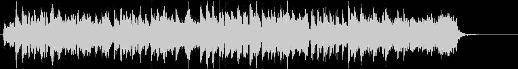 明るく爽やかな和風曲-短縮版の未再生の波形