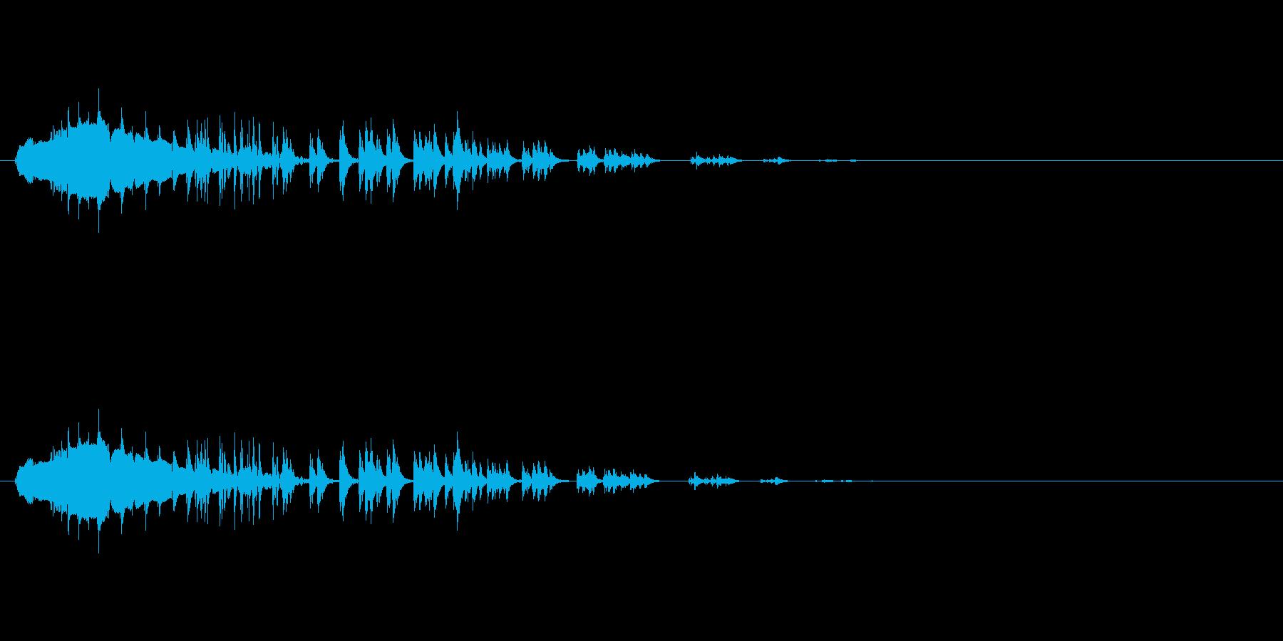 お腹がすく音 (グウゥゥゥゥー)の再生済みの波形