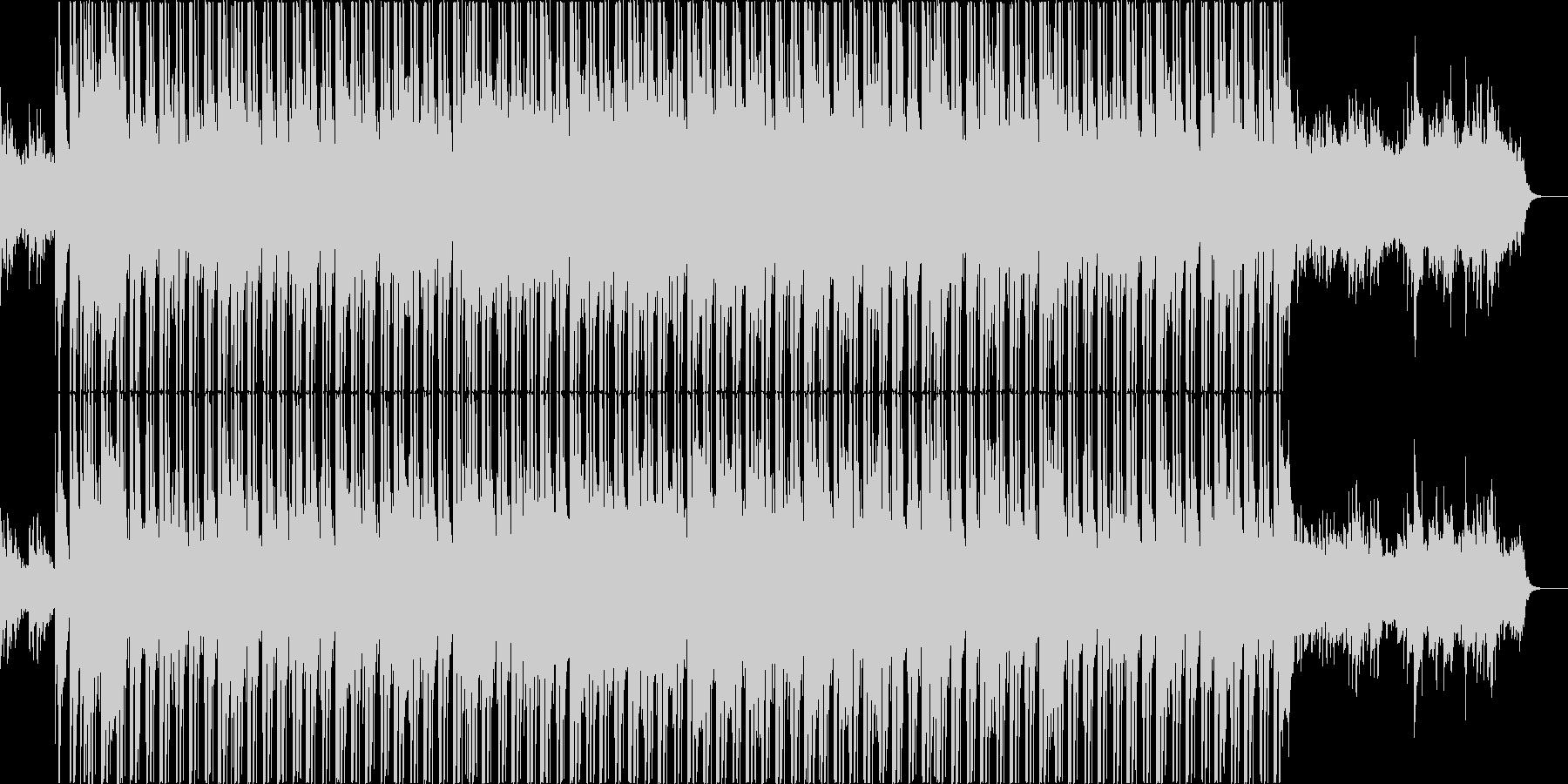 和風で明るくかわいいヒップホップの未再生の波形