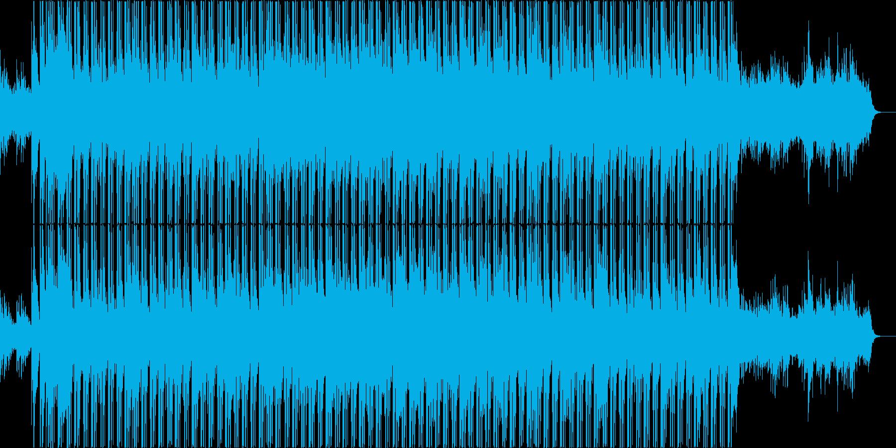 和風で明るくかわいいヒップホップの再生済みの波形
