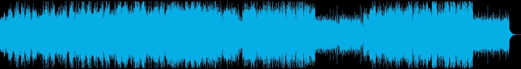 無機質、どこか爽やか、ミニマルテクノの再生済みの波形