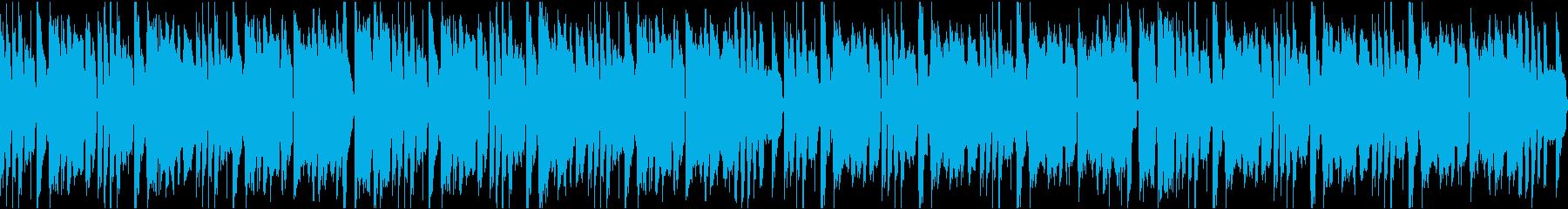 かわいいコミカル/静かめ/ループの再生済みの波形