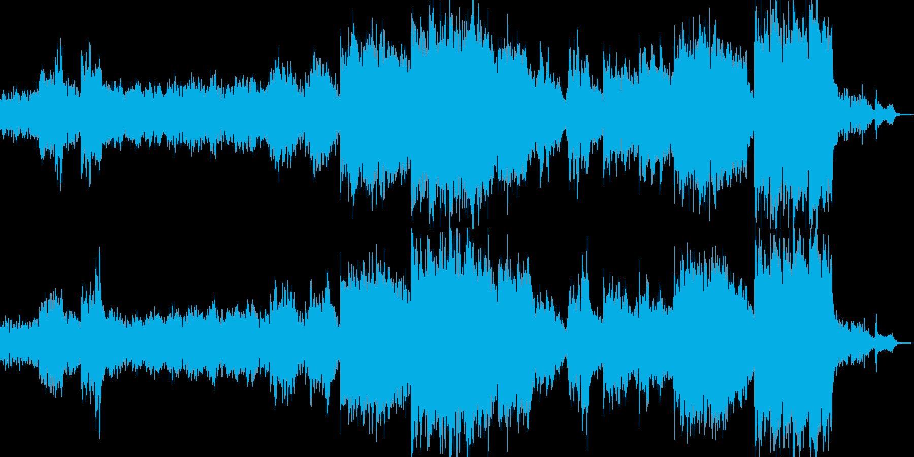 神秘の森をイメージしたヒーリング Aの再生済みの波形