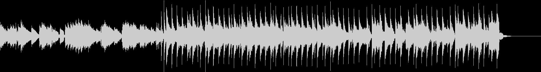 DayGlow  的な80年代ポップスの未再生の波形
