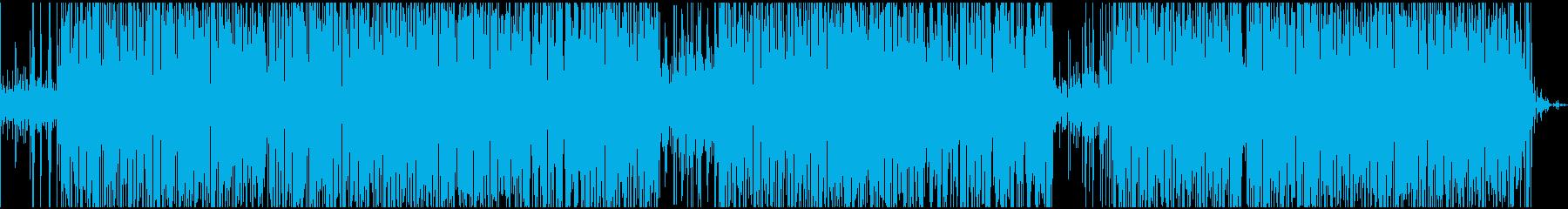 簡単でゆったりとしたクールなジャズ...の再生済みの波形