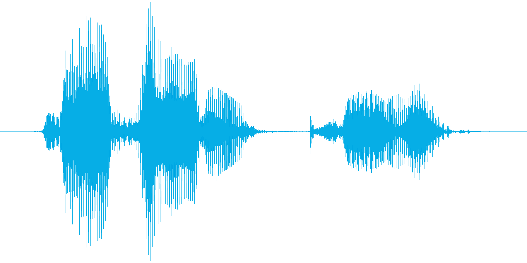 レベル9(きゅう)の再生済みの波形