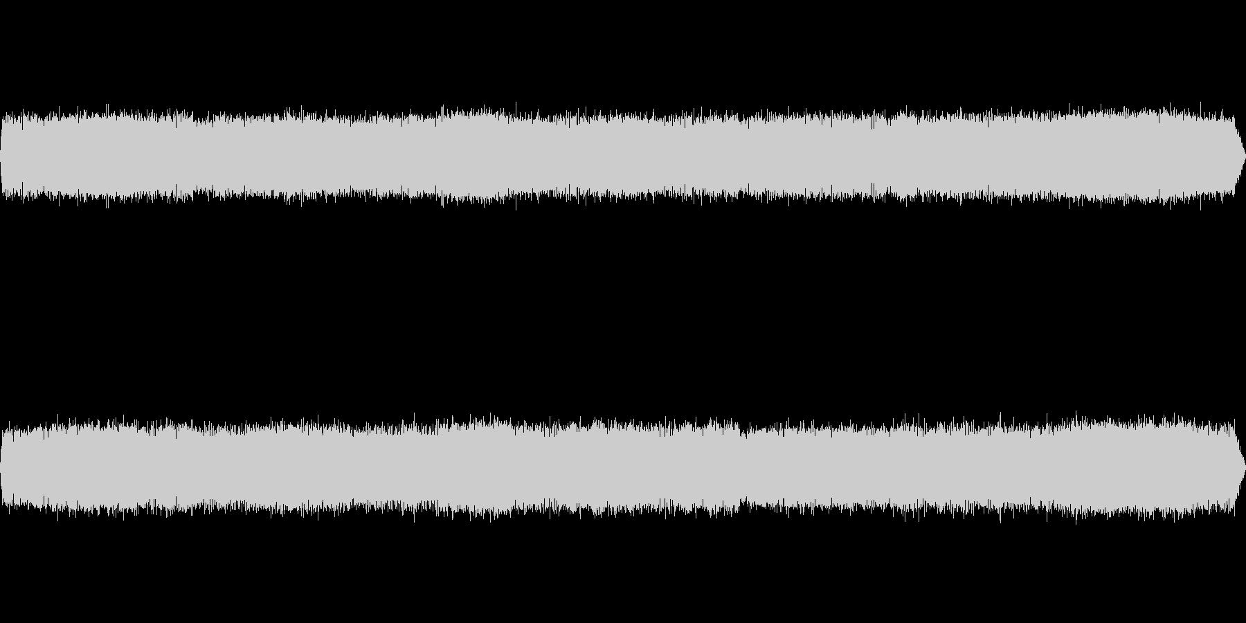 カエルの鳴き声-6の未再生の波形