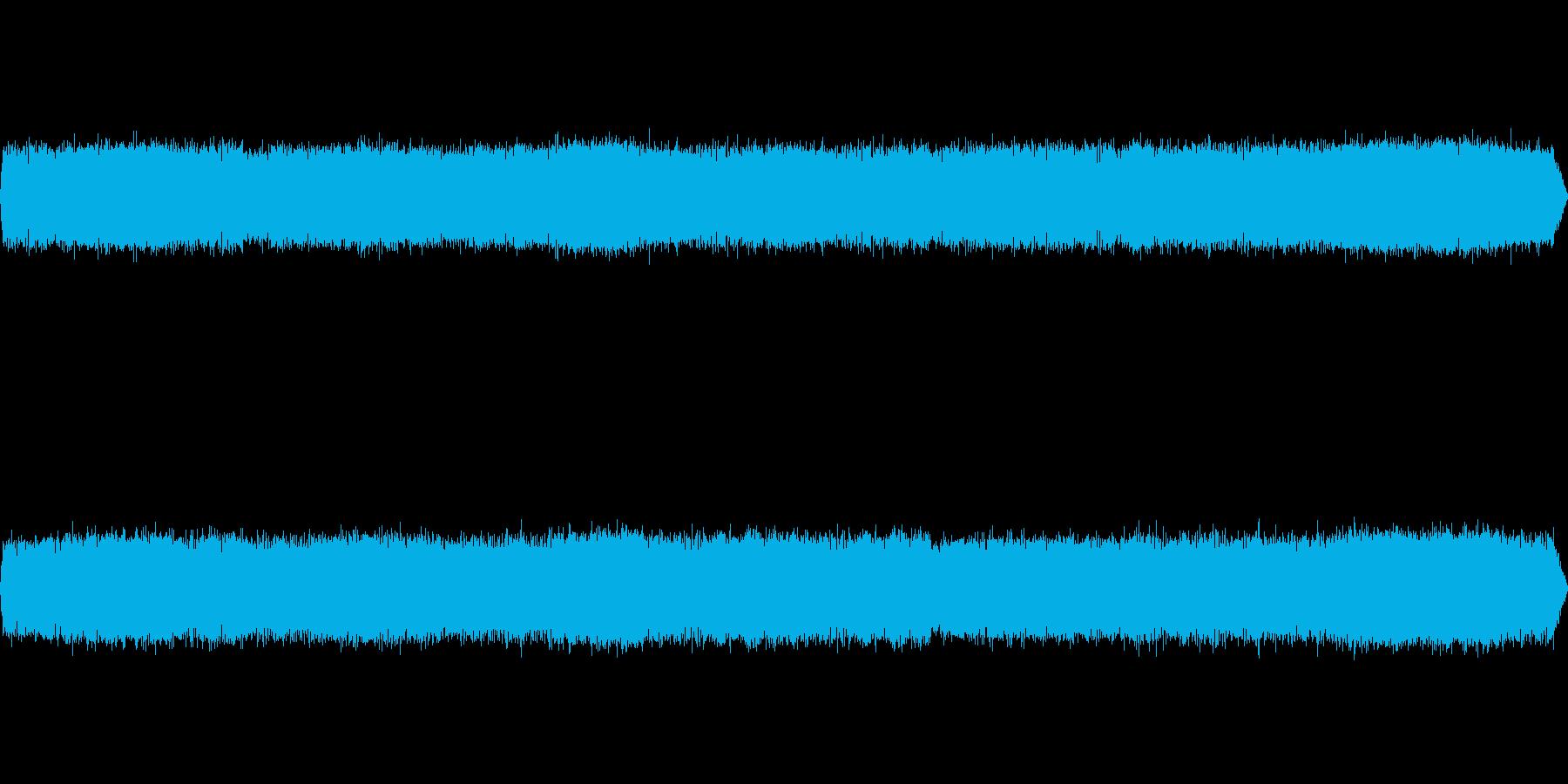 カエルの鳴き声-6の再生済みの波形