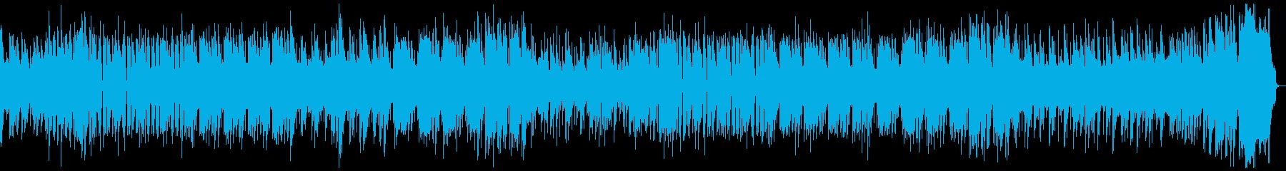 8bit ポップでスペースチックなBGMの再生済みの波形