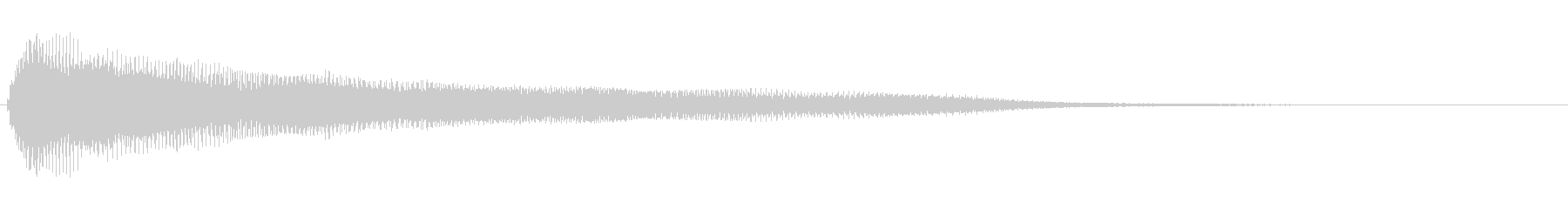 残念・失敗・呆れ・コミカル Low-3の未再生の波形