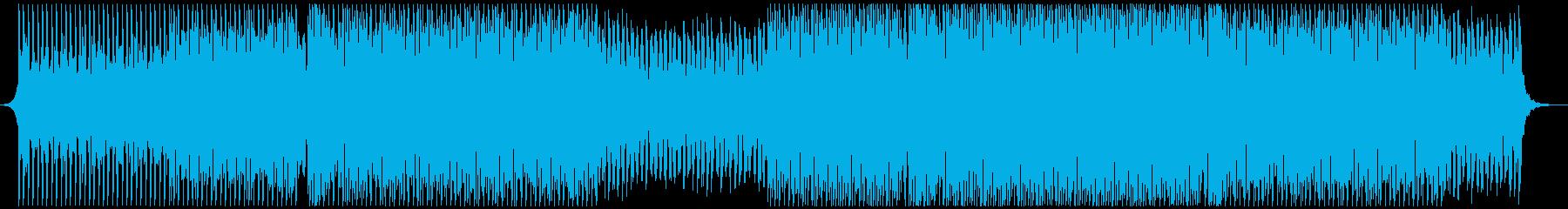 陽気でエネルギッシュなポップの再生済みの波形