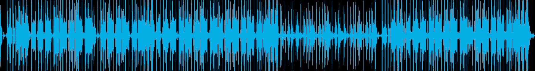 Hip hop groove urban's reproduced waveform