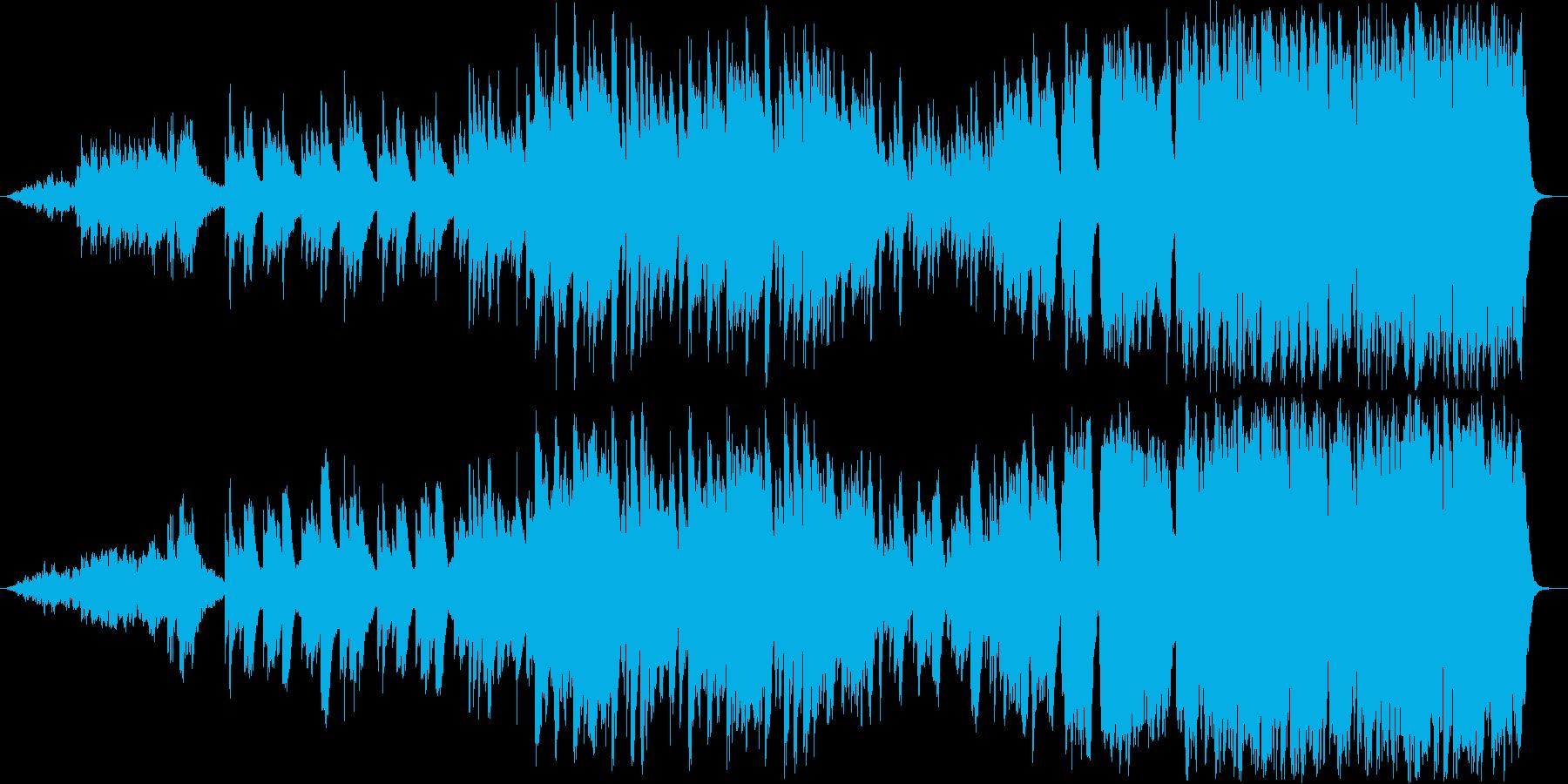 希望や再起の可能性を感じるピアノ+弦の曲の再生済みの波形