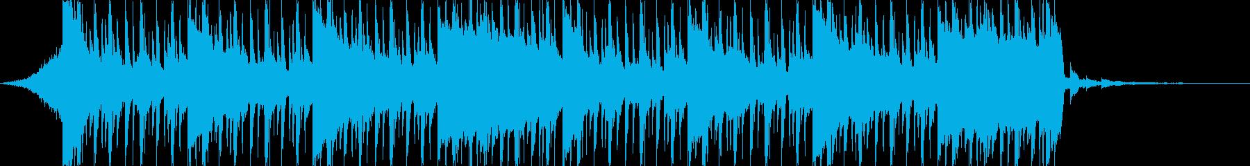 企業VP向け、爽やかポップ4つ打ち7-2の再生済みの波形