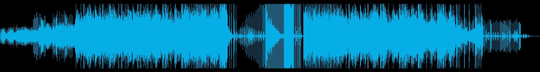 テクスチャー、チルアウト、トラップの再生済みの波形