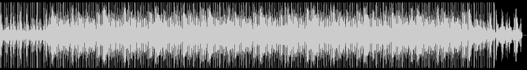 生演奏の爽やか系BGMの未再生の波形