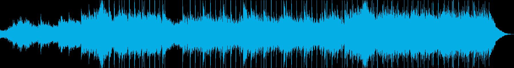メロディック、インストゥルメンタル...の再生済みの波形