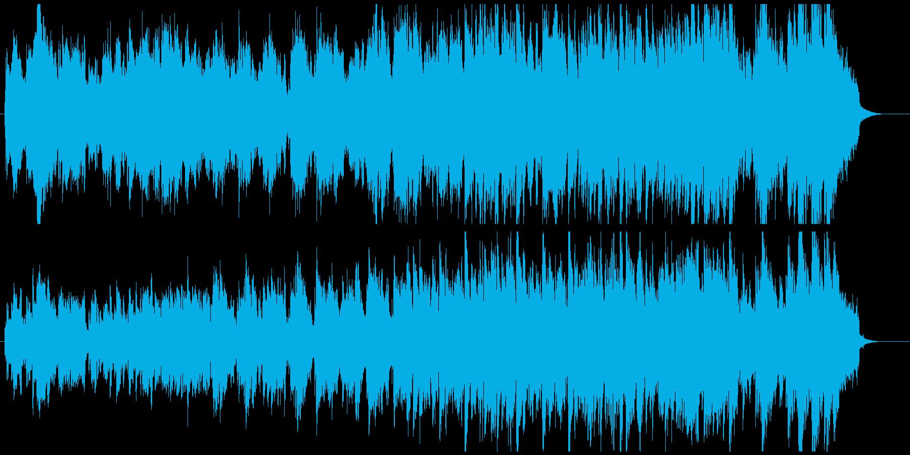 ファンタジー・メルヘン・妖精のケルト音楽の再生済みの波形