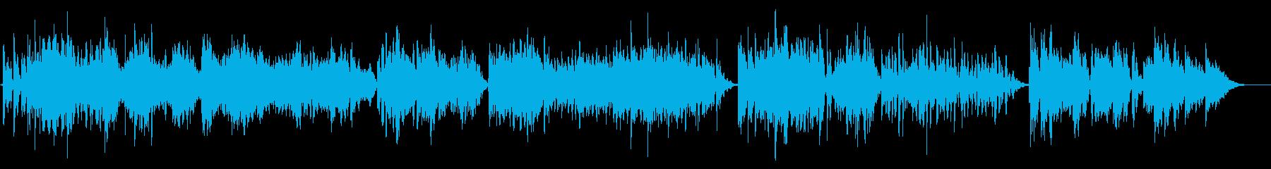 爽やかな朝のエレピ&フルート風3分23秒の再生済みの波形