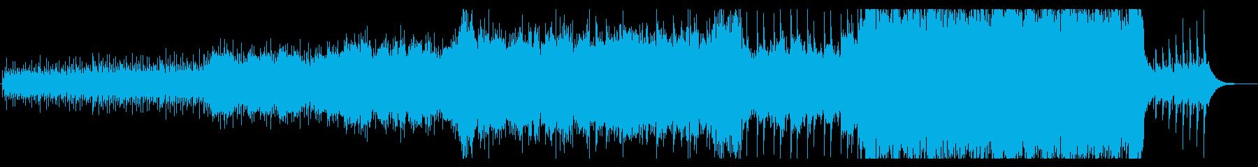 悲壮感、切なさ、ストリングス曲BGMの再生済みの波形