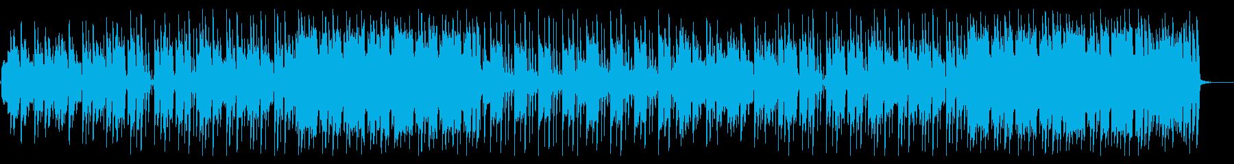 トイ楽器によるほのぼのロックの再生済みの波形