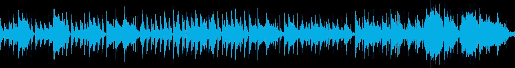 夕暮れの似合うゆったりバラード・ループの再生済みの波形
