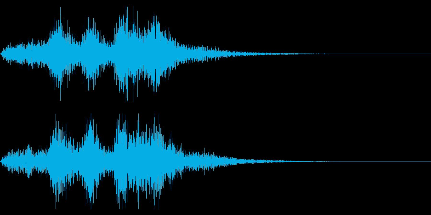 【ジングル】オーケストラ・成功系の再生済みの波形