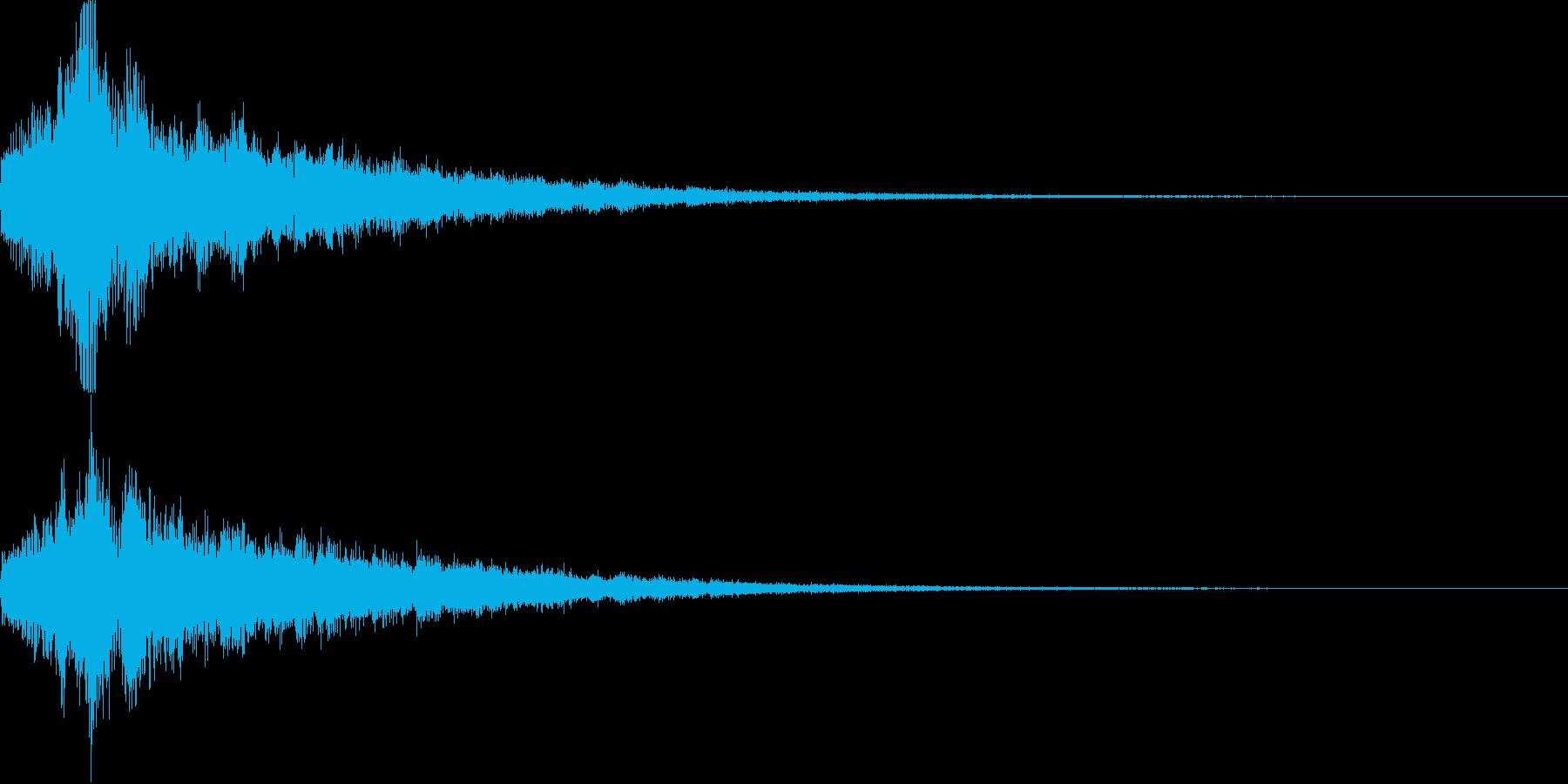 シュピーン・ピカーン・技・魔法3の再生済みの波形