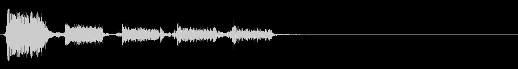 エレキギター:フォーリングダウンア...の未再生の波形