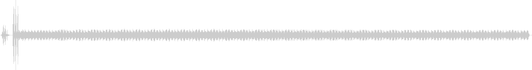 スペースコンピュータテレメトリーの...の未再生の波形