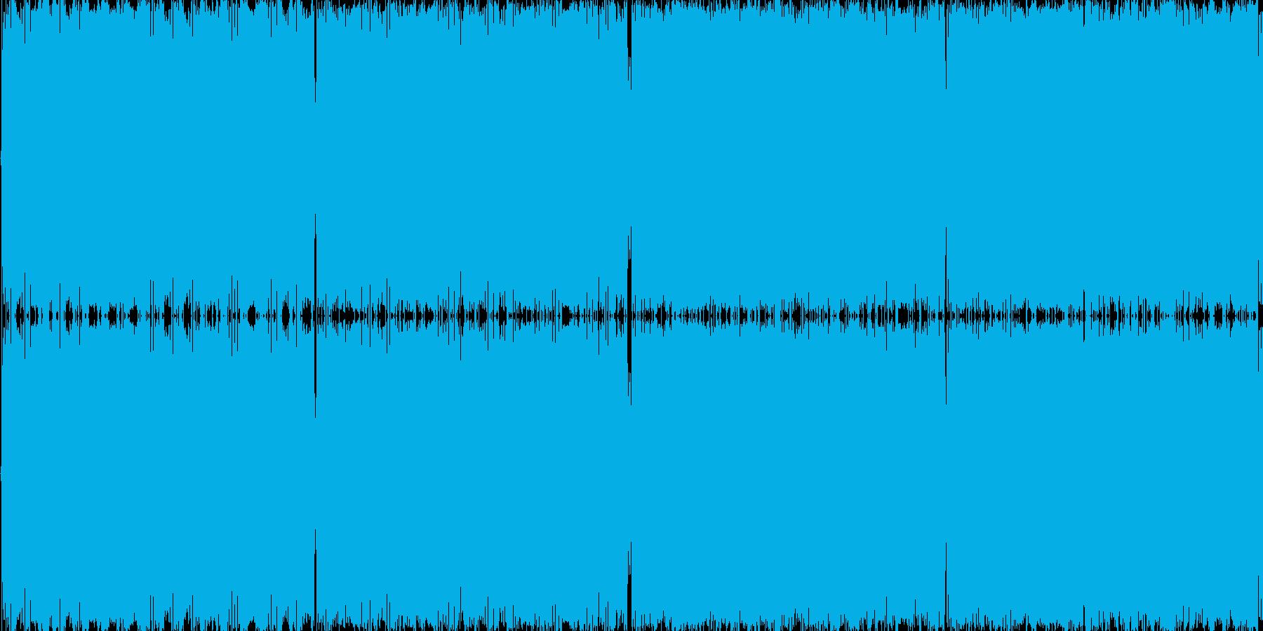 8bit音のみで作ったシンプルピコピコ…の再生済みの波形