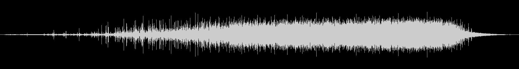 素材 レインスティックシングル01の未再生の波形