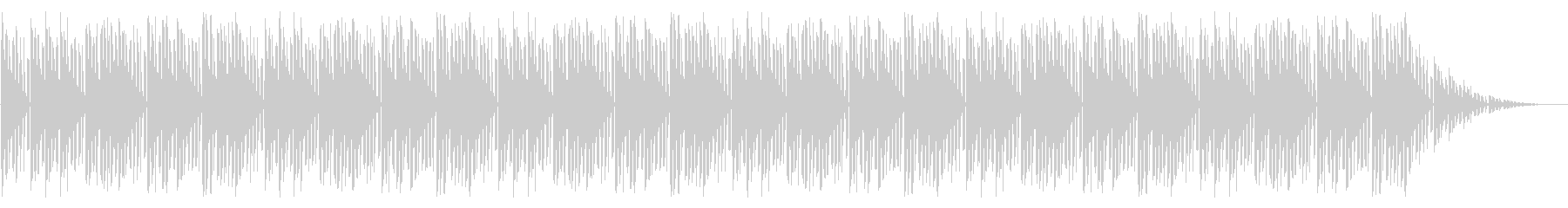 GB風アクションゲームのOP曲の未再生の波形
