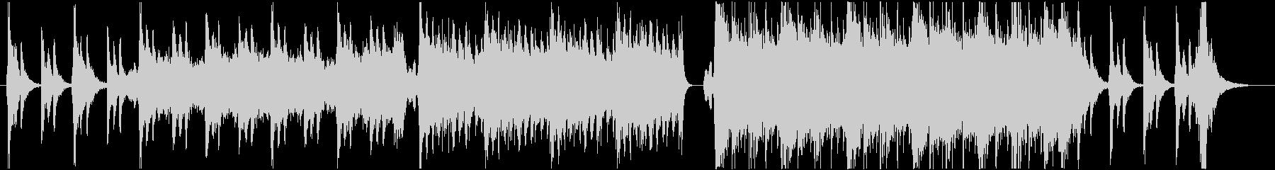 ファンタジー系の壮大なオーケストラBGMの未再生の波形